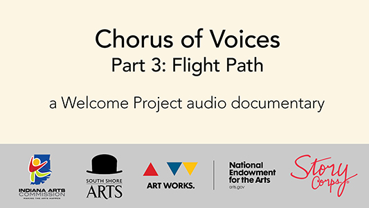 audio documentary flight path chorus