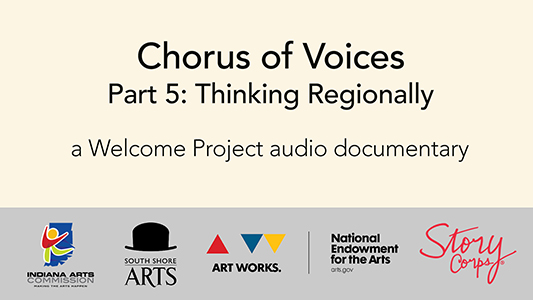 audio documentary thinking regionally
