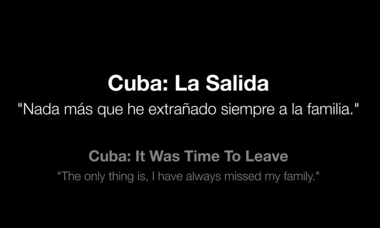 cuba - it was time to leave
